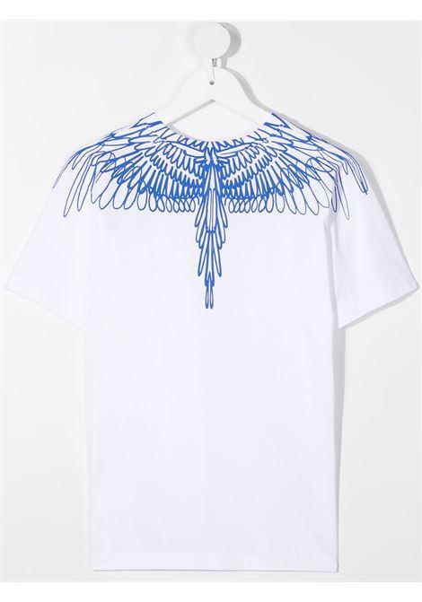 T-shirt bianca MARCELO BURLON KIDS | T-SHIRT | 11000010TB000