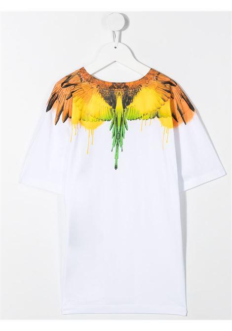 T-shirt bianca MARCELO BURLON KIDS | T-SHIRT | 11040010B000
