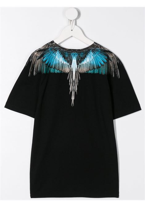 T-shirt nera MARCELO BURLON KIDS | T-SHIRT | 11040010B010