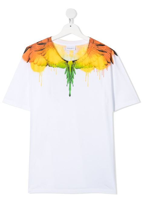 T-shirt bianca MARCELO BURLON KIDS | T-SHIRT | 11040010TB000