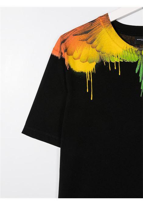 T-shirt nera MARCELO BURLON KIDS | T-SHIRT | 11040010TB010