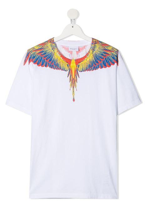 T-shirt bianca MARCELO BURLON KIDS | T-SHIRT | 11090010TB000