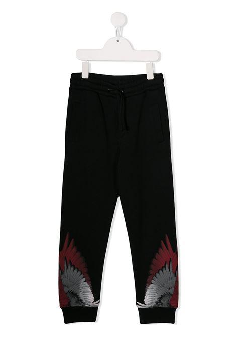 Pantalone nero MARCELO BURLON KIDS | PANTALONI | 30000020B010