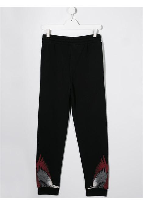 Pantalone nero MARCELO BURLON KIDS | PANTALONI | 30000020TB010