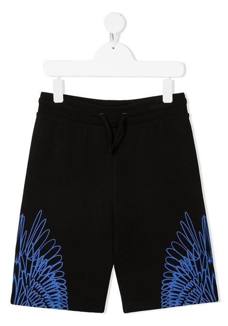 Pantaloncini neri MARCELO BURLON KIDS | SHORTS | 32000020TB010