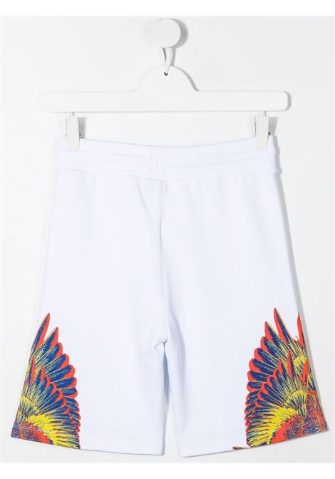 Shorts bianco MARCELO BURLON KIDS | SHORTS | 32050020B000