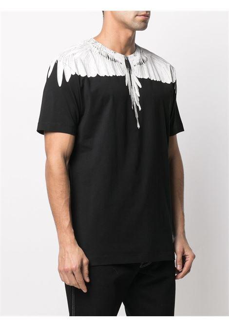 Black t-shirt MARCELO BURLON |  | CMAA018R21JER0011001