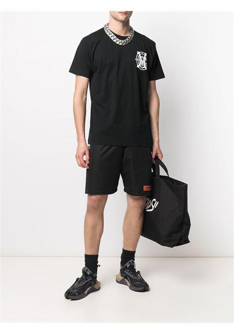 T-shirt nera MARCELO BURLON | T-SHIRT | CMAA018R21JER0051001