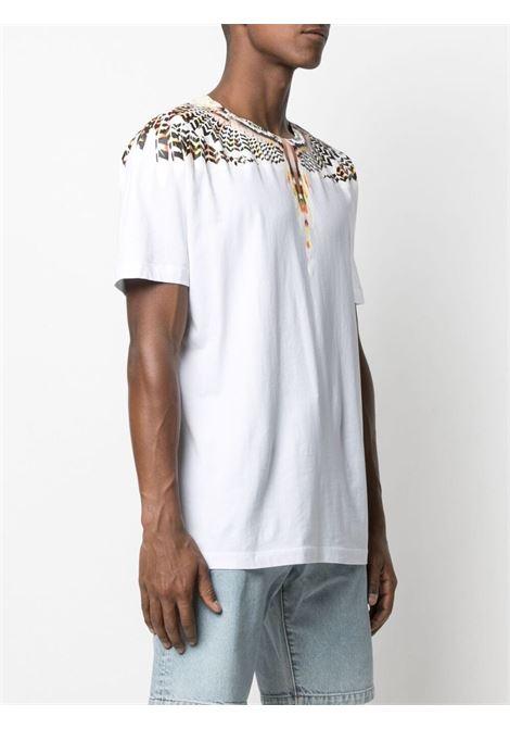 White t-shirt MARCELO BURLON | T-SHIRT | CMAA018S21JER0020118