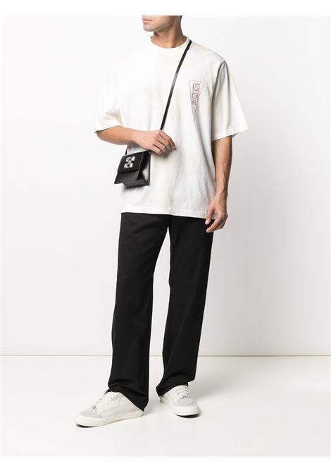 White t-shirt MARCELO BURLON   CMAA054R21JER0020161