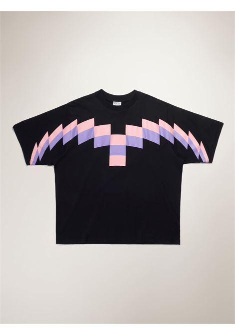 T-shirt nera MARCELO BURLON | T-SHIRT | CMAA054R21JER0031030