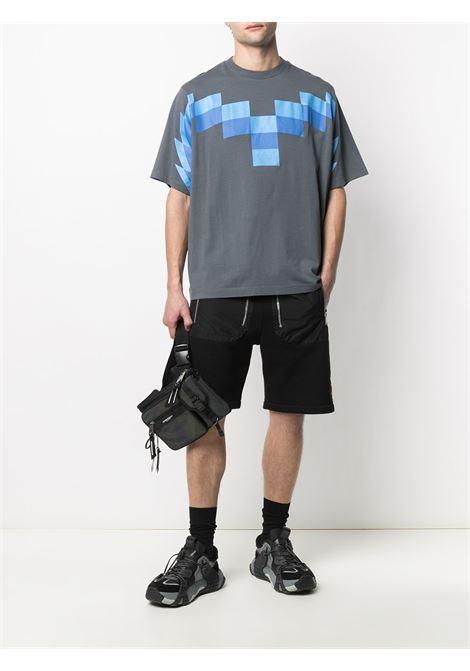 Grey t -shirt MARCELO BURLON   CMAA054R21JER0034941