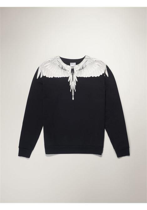 Black sweatshirt MARCELO BURLON |  | CMBA009R21FLE0011001