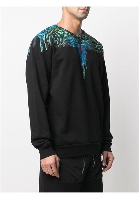Black sweatshirt MARCELO BURLON |  | CMBA009R21FLE0011069