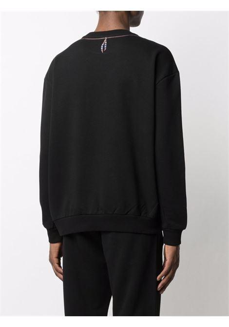 Black sweatshirt MARCELO BURLON | SWEATSHIRTS | CMBA049S21FLE0021045