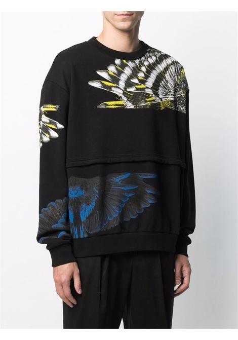 Black sweatshirt MARCELO BURLON | SWEATSHIRTS | CMBA091S21FLE0021009