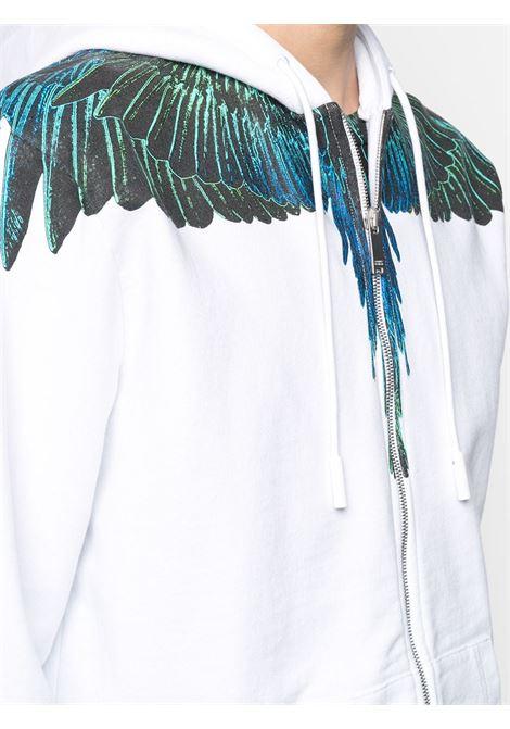 White sweatshirt MARCELO BURLON |  | CMBE001R21FLE0010169