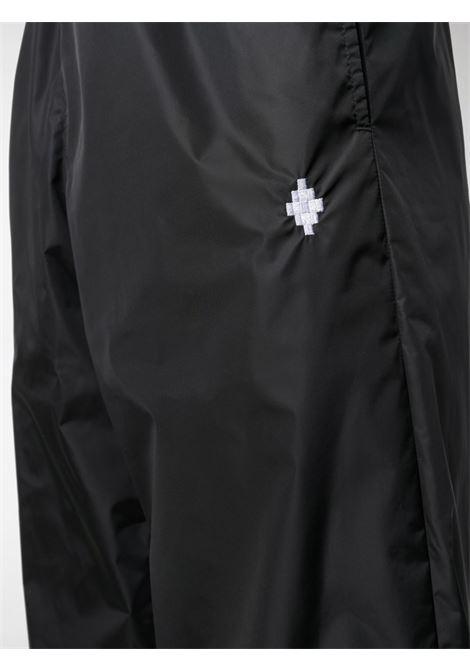 Pantalone nero MARCELO BURLON | PANTALONI | CMCA146R21FAB0011001