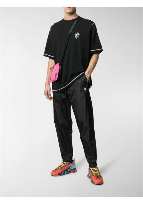 Black trousers MARCELO BURLON |  | CMCA146R21FAB0011001