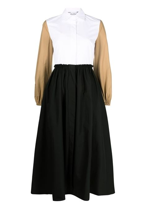 White/black dress MAX MARA | DRESS | 12210312600190001