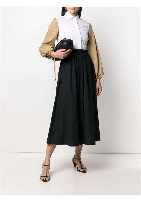 White/black dress MAX MARA   DRESS   12210312600190001