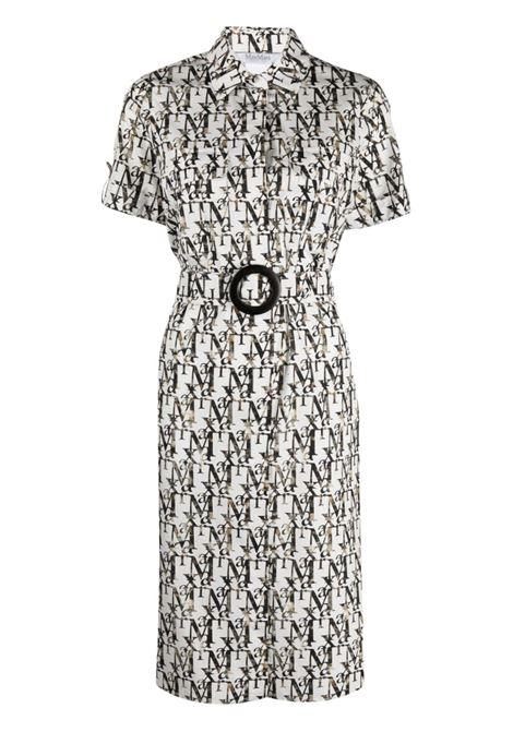 White/black dress MAX MARA   DRESS   12211512600024001