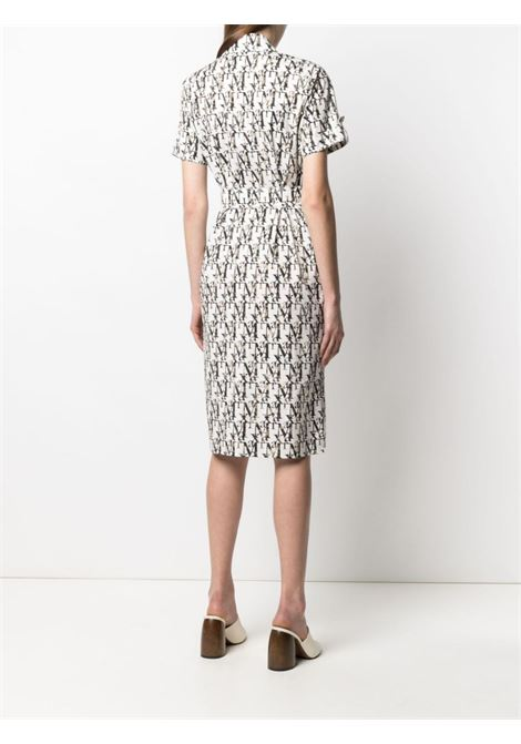 White/black dress MAX MARA | DRESS | 12211512600024001