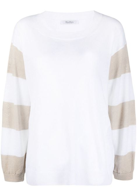 White jumper MAX MARA | JERSEYS | 13610112600080006