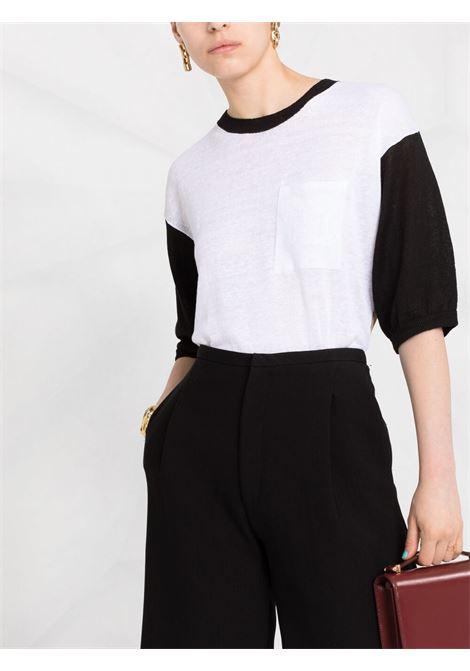 White/black jumper MAX MARA | JERSEYS | 13610212600080009