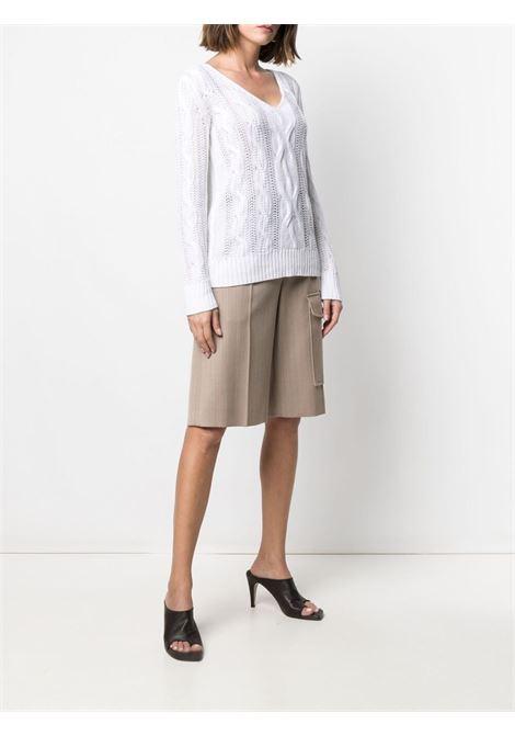 Maglione bianco MAX MARA | MAGLIONE | 13611212600080001