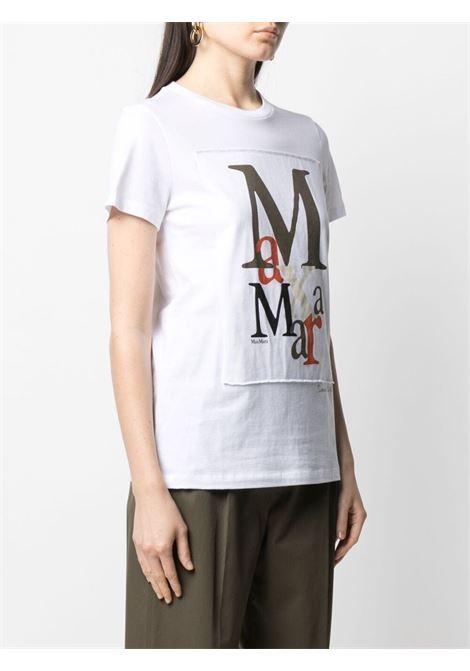 T-shirt bianca MAX MARA | T-SHIRT | 19410212600199011