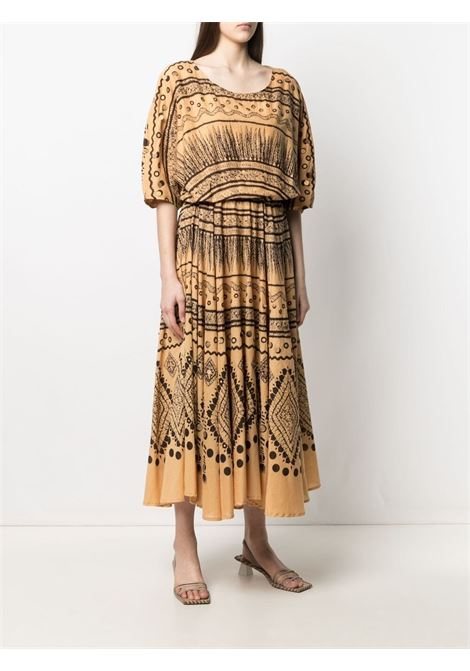 Brown dress MES DEMOISELLES | DRESS | 21SMMDKW00001OCRE