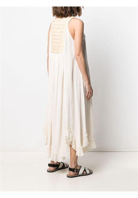 White dress MES DEMOISELLES | DRESS | 21SMMDKW00037NATURAL