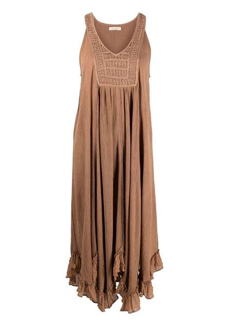 Brown dress MES DEMOISELLES | DRESS | 21SMMDKW00037NUDE