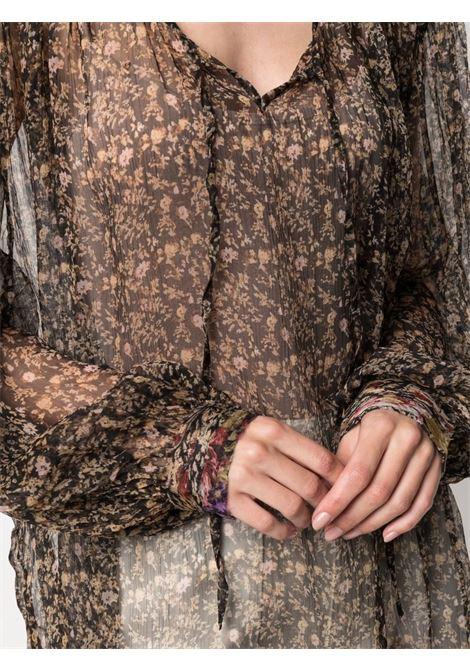 Black blouse MES DEMOISELLES | BLOUSE | 21SMMDKW00041BLACKCO