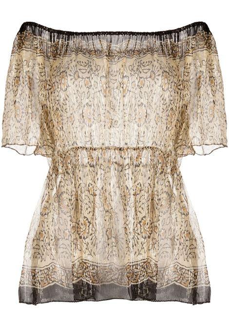 Brown blouse MES DEMOISELLES | JERSEYS | 21SMMDKW00048OCRE