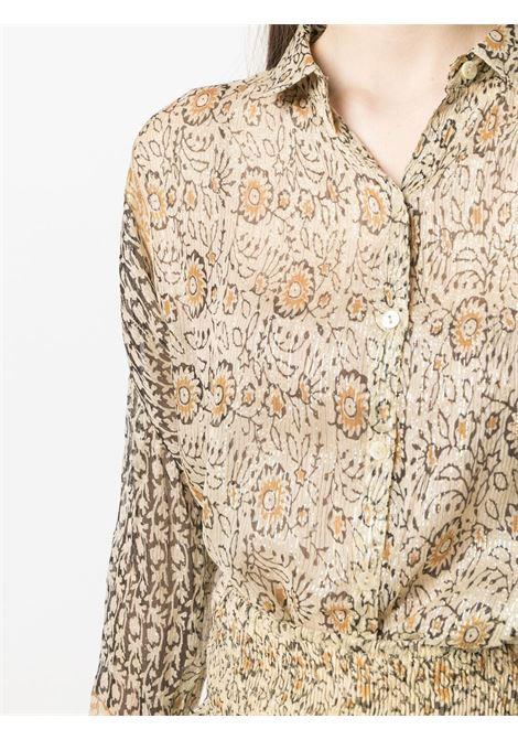 Beige shirt MES DEMOISELLES | SHIRTS | 21SMMDKW00049OCRE