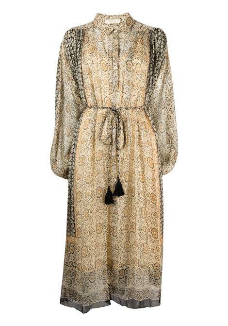 Gold dress MES DEMOISELLES | DRESS | 21SMMDKW00050OCRE