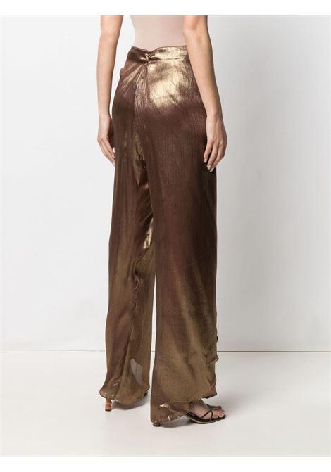 Bronze trousers MES DEMOISELLES | TROUSERS | 21SMMDPW00006BRONZE