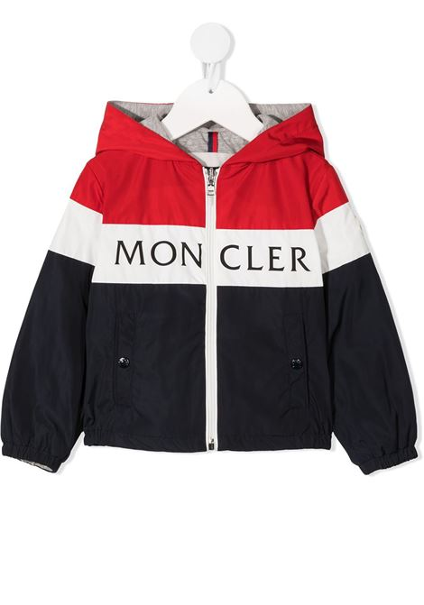 Red/White/Blue jacket MONCLER ENFANT | JACKETS | 1A7132054543456