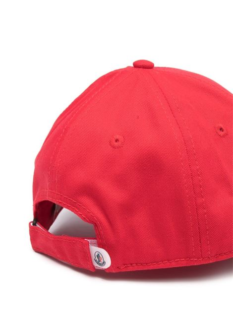 Cappello rosso MONCLER ENFANT | CAPPELLI | 3B1000004863455