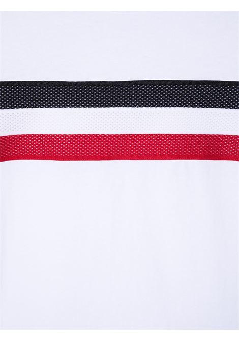 T-shirt bianca MONCLER ENFANT | T-SHIRT | 8C74320T83907001
