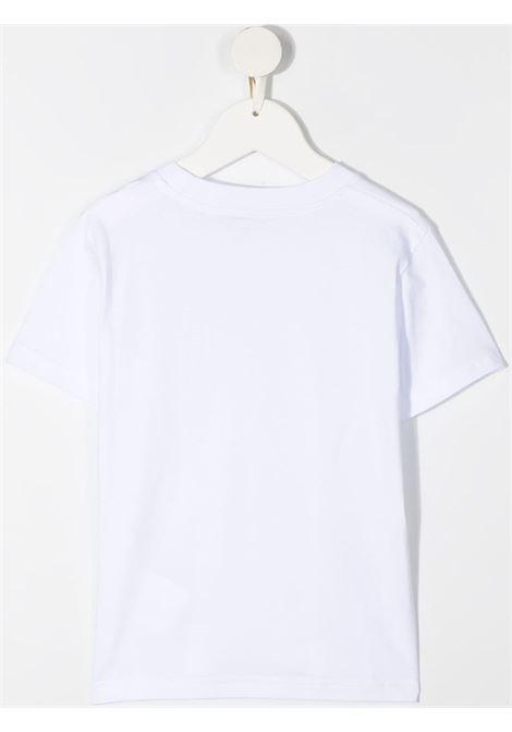 T-shirt bianca MONCLER ENFANT | T-SHIRT | 8C7460083907001