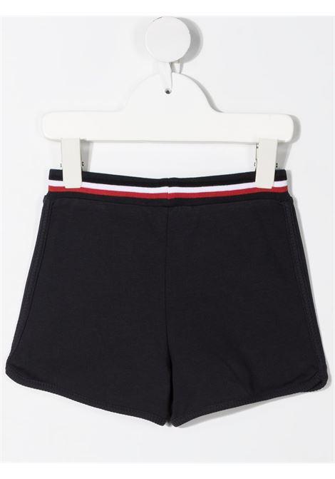 Shorts nero MONCLER ENFANT | PANTALONI | 8H71000B899AR742