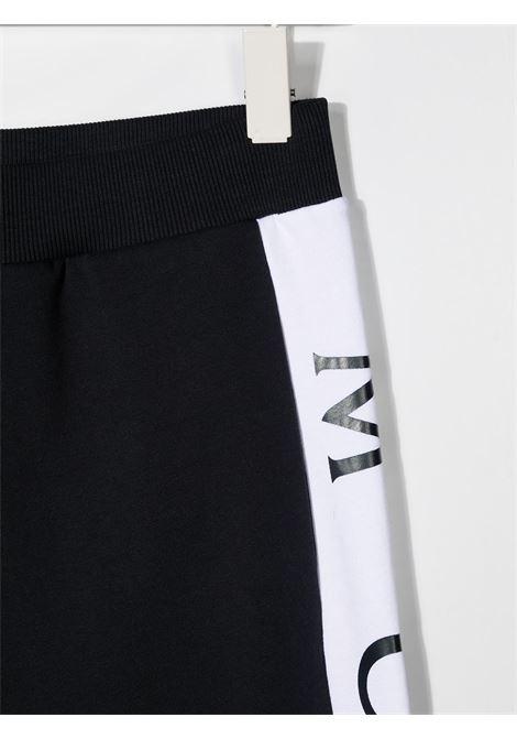 Pantalone rosso/blu MONCLER ENFANT | PANTALONI | 8H74120T809AG742
