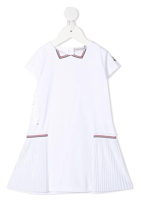 Abito bianco MONCLER ENFANT | ABITI | 8I72110B8790A002