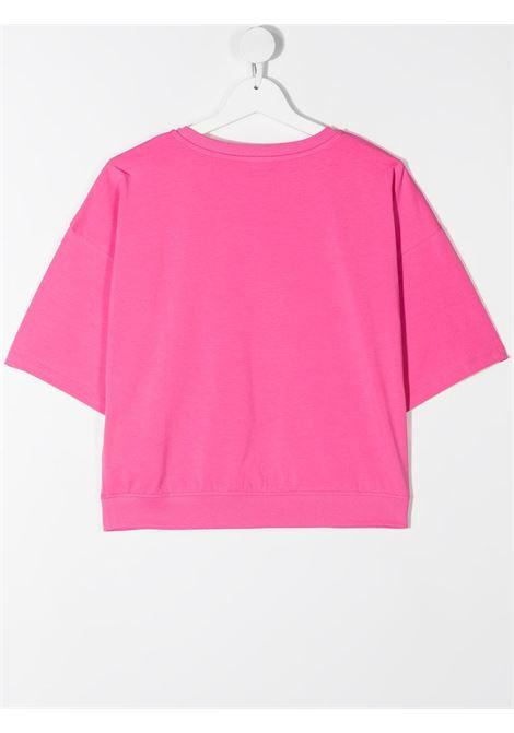 T-shirt rosa MOSCHINO KIDS | T-SHIRT | HDM03XTLBA1850533