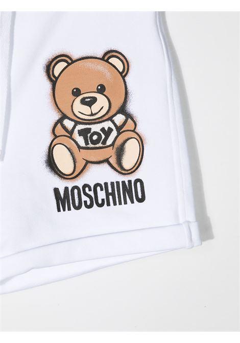Shorts bianco MOSCHINO KIDS | SHORTS | HDQ007LDA1310101