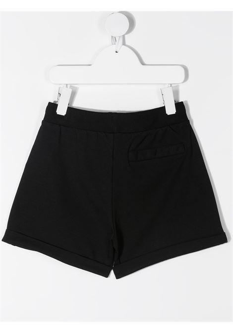 Shorts nero MOSCHINO KIDS | SHORTS | HDQ007LDA1360100