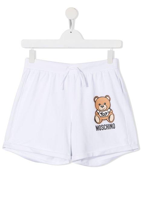 Shorts bianco MOSCHINO KIDS | SHORTS | HDQ007TLDA1310101